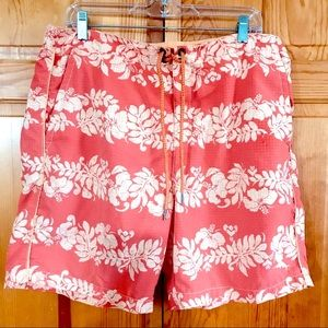 Tommy Bahama Men's Coral Swim Trunks Relax Large
